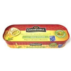 Connetable Mackerel Fillets in Extra Virgin Olive Oil | Buy Online | UK